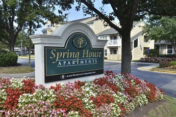 Community Signage, Spring House Apartments, 2