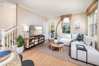 Living Room, Cypress Village, 1