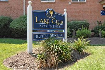 Community Signage, Lake Club, 1