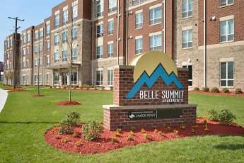 Community Signage, Belle Summit Apartments, 0