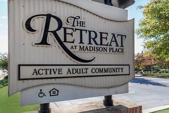 Community Signage, The Retreat at Madison Place, 0