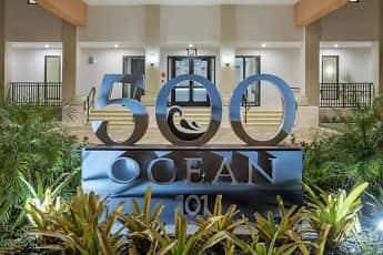 Community Signage, 500 Ocean, 0