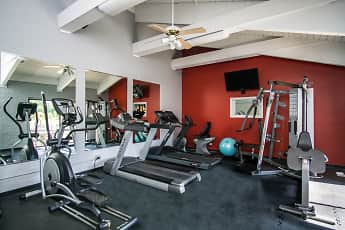 Fitness Weight Room, Riverwood Apartment Homes, 2