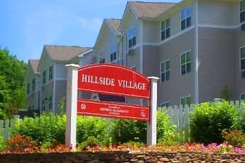 Community Signage, Hillside Village Apartments, 1