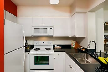 Kitchen, AVA Ballston, 1