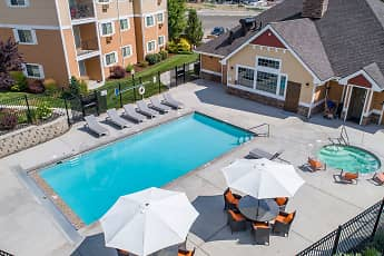 Pool, Quail Springs Apartments, 0