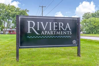 Community Signage, Riviera Apartments, 1
