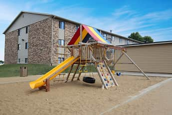 Playground, Cleveland Heights Apartments, 0