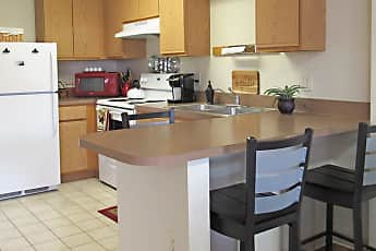 Kitchen, Bard Student Townhouses, 0