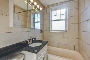 Bathroom, Clinton & Prospect Apartments, 2