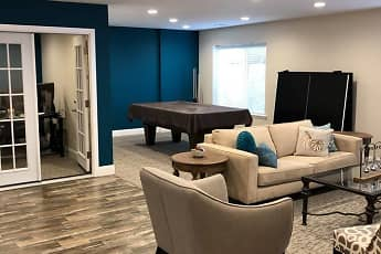 Clubhouse, Cook Apartments at Libertyville, 1