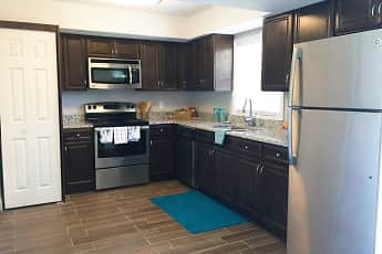 Kitchen, Sea Oats Apartments, 0
