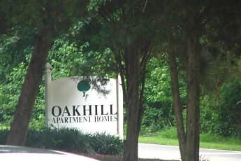 Community Signage, Oakhill Apartments, 0