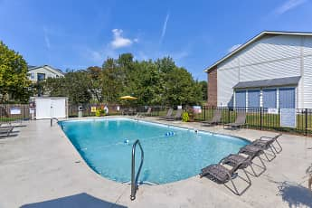 Pool, Eagles Crest at Durrett Apartments, 0