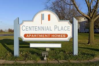 Community Signage, Centennial Place, 2