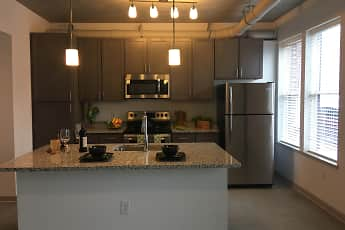Kitchen, The Edge Apartments, 1