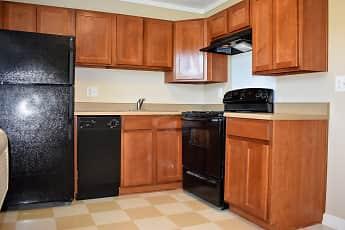 Kitchen, Greenwood Farms Apartments, 1