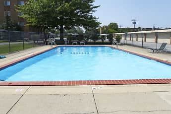 Pool, Mayland Towers Apartments, 0