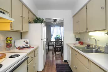 Kitchen, Riverwood Apartment Homes, 1