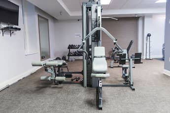 Fitness Weight Room, Pembroke Square, 2