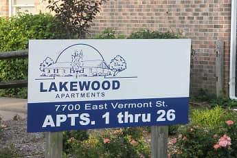 Building, Lakewood Apartments, 1