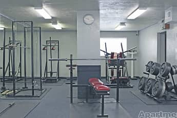 Fitness Weight Room, Lantern Village, 2