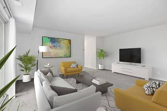 Living Room, Dunhill North Apartments, 0