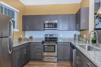 Kitchen, Fountain Lake Apartments, 1