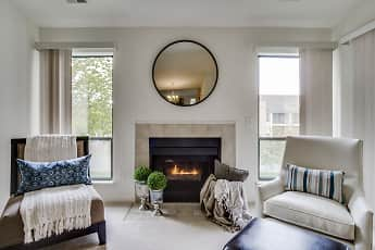 Fireplace, Manors At Knollwood, 1