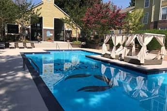 Pool, Copper Creek Apartments, 1