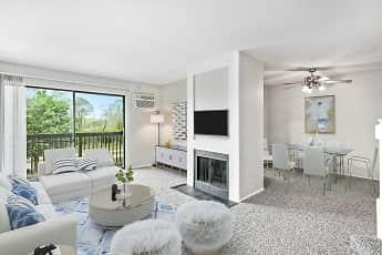 Living Room, Lakeside Apartments, 0
