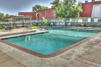 Pool, Garden Park Apartments, 0