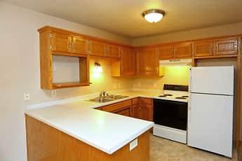 Kitchen, Colonial Court Apartments, 2