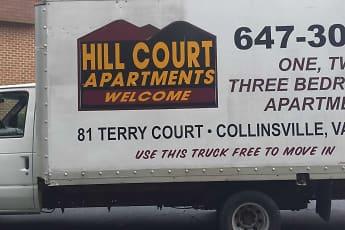 Community Signage, Hill Court Apartments, 2