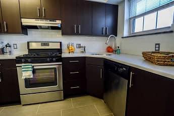 Kitchen, Conwyn Arms, 1