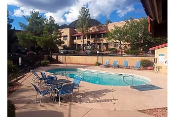 Pool, Shadowbrook Apartments, 1