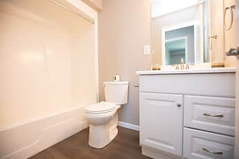 Bathroom, Andover Apartments, 2