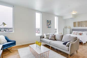 Living Room, WaterCooler Apartments, 0