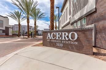Community Signage, Acero Cooley Station, 2