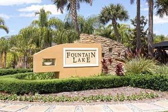 Community Signage, Fountain Lake Apartments, 2