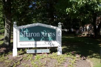 Community Signage, Sharon Arms, 0