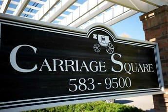 Community Signage, Carriage Square, 2