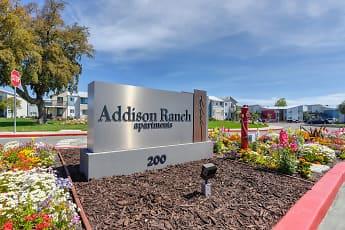 Community Signage, Addison Ranch, 2