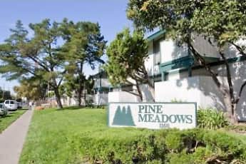 Community Signage, Pine Meadows Apartments, 1