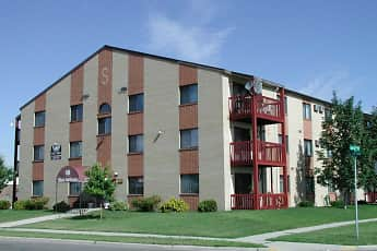 Building, Skaff Apartments - Moorhead, 0