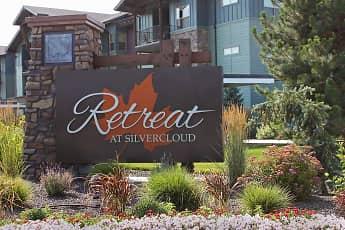 Community Signage, Retreat at Silvercloud, 0