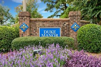 Community Signage, Duke Manor, 2