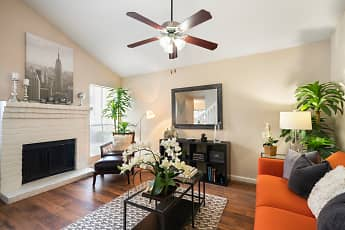 Living Room, Kendall Manor, 0