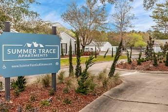 Community Signage, Summer Trace Apartments, 0