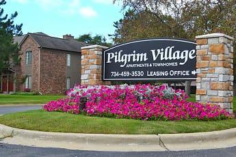 Community Signage, Pilgrim Village, 0